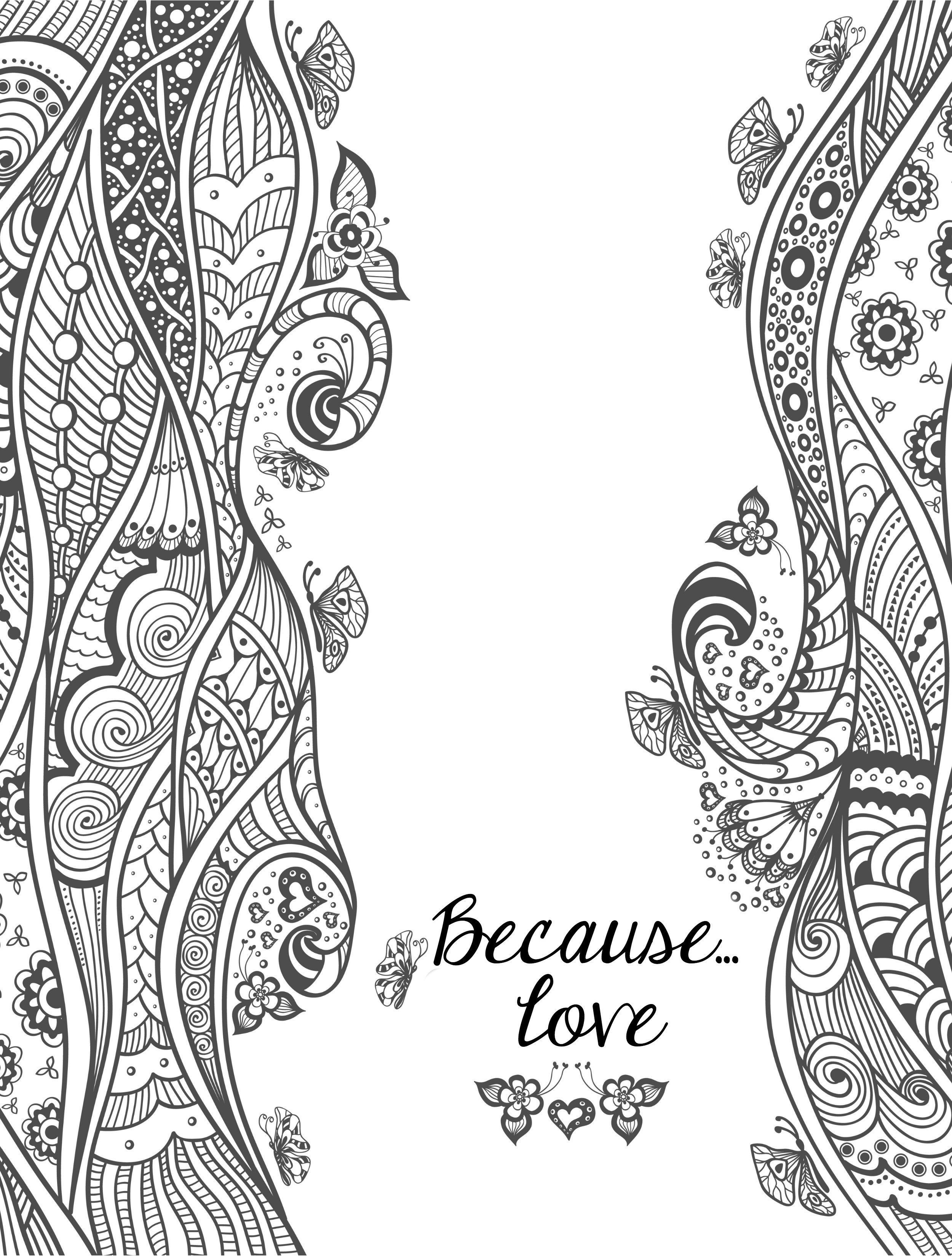 Free Printable I Love You Coloring Pages For Adults  20 Free Printable Valentines Adult Coloring Pages Nerdy