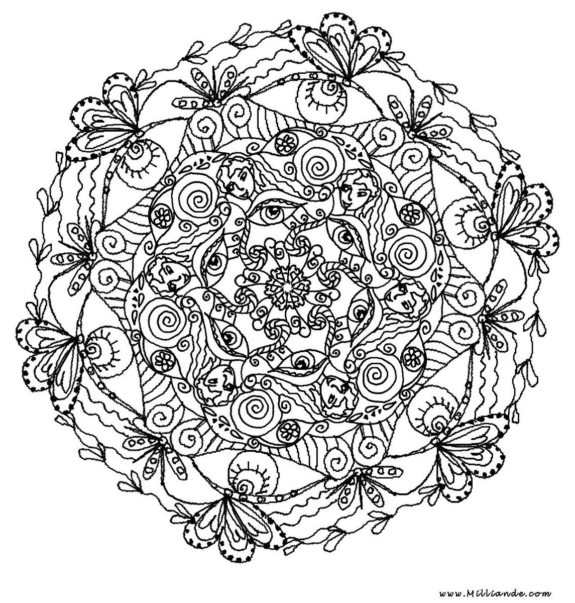 Free Printable Mandala Coloring Pages For Adults  Mindful Mandalas – juste etre just be