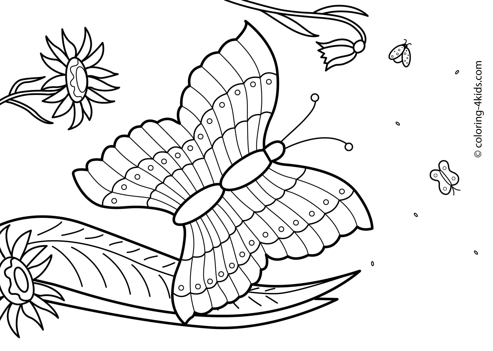 Free Printable Summer Coloring Pages  27 Summer season coloring pages part 2