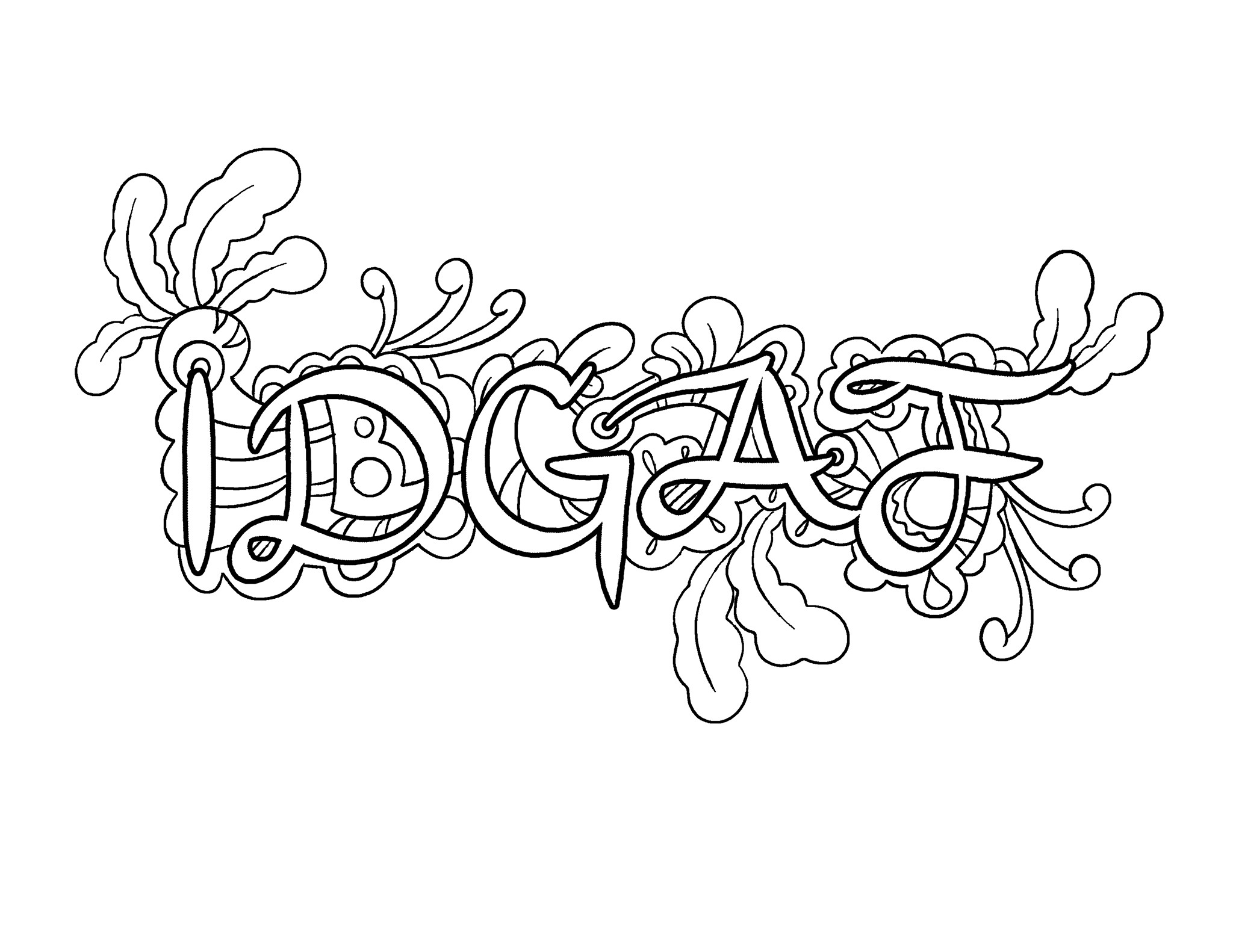 Best ideas about Free Swear Word Coloring Pages For Adults . Save or Pin Free Printable Coloring Pages For Adults Swear Words Now.