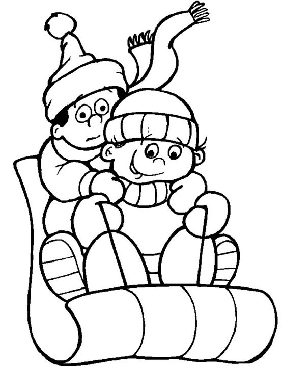 Free Winter Printable Coloring Pages  Free Printable Winter Coloring Pages For Kids