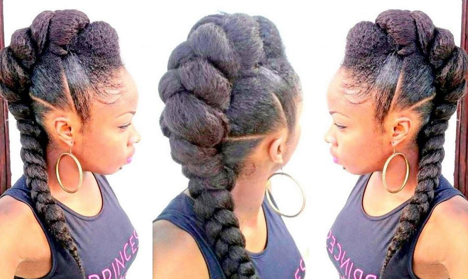 French Braid With Weave Hairstyles  French Braid Hairstyles With Weave Latest and Best for