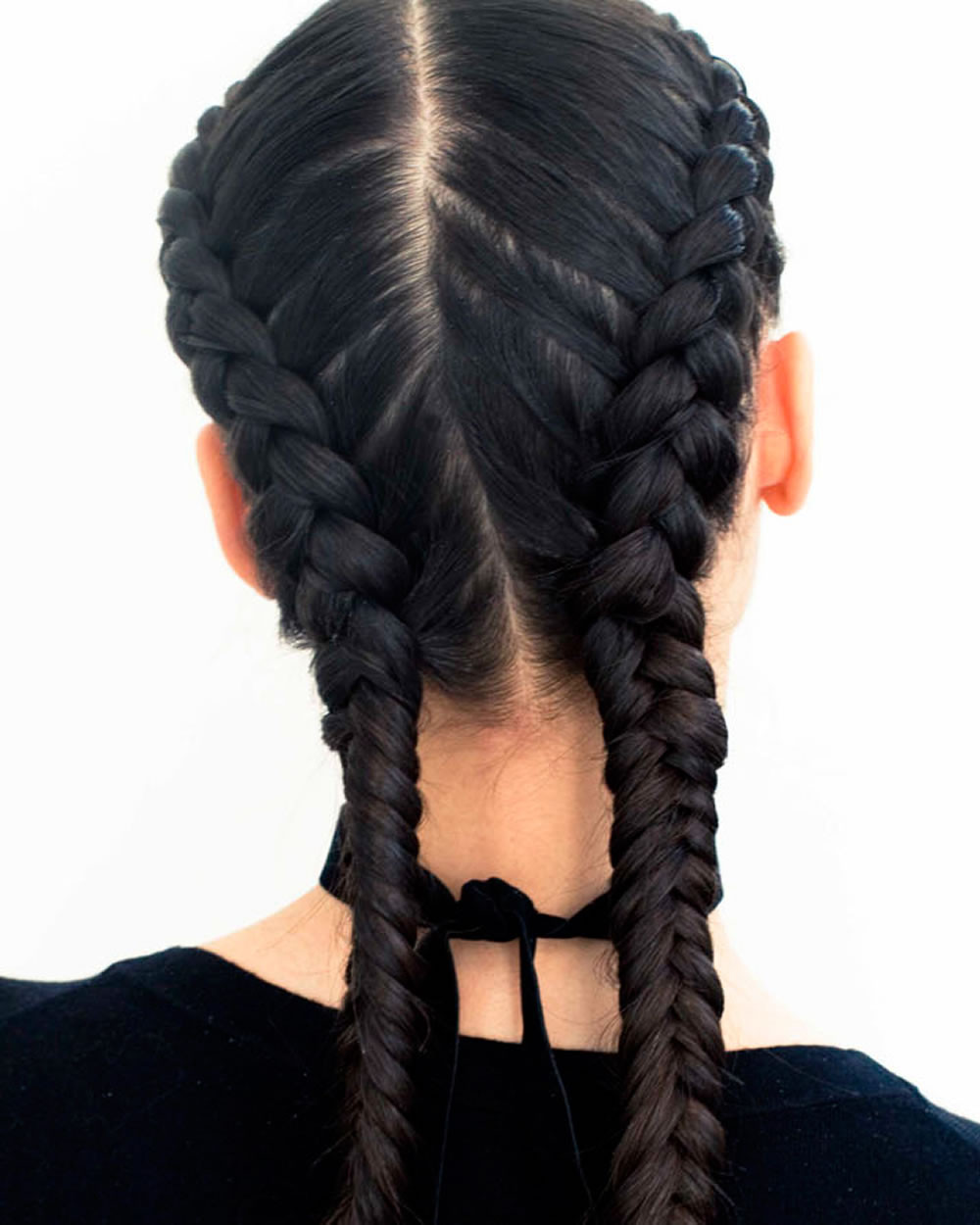 French Braid With Weave Hairstyles  French Braids 2018 Mermaid Half up Side Fishtail etc