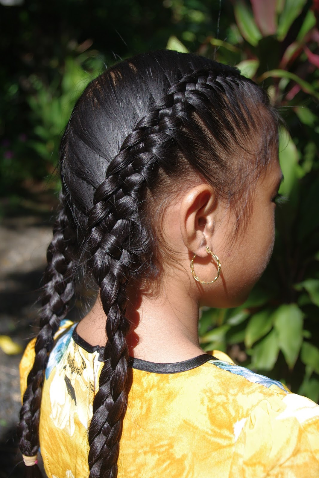 French Braid With Weave Hairstyles  Braids & Hairstyles for Super Long Hair July 2013
