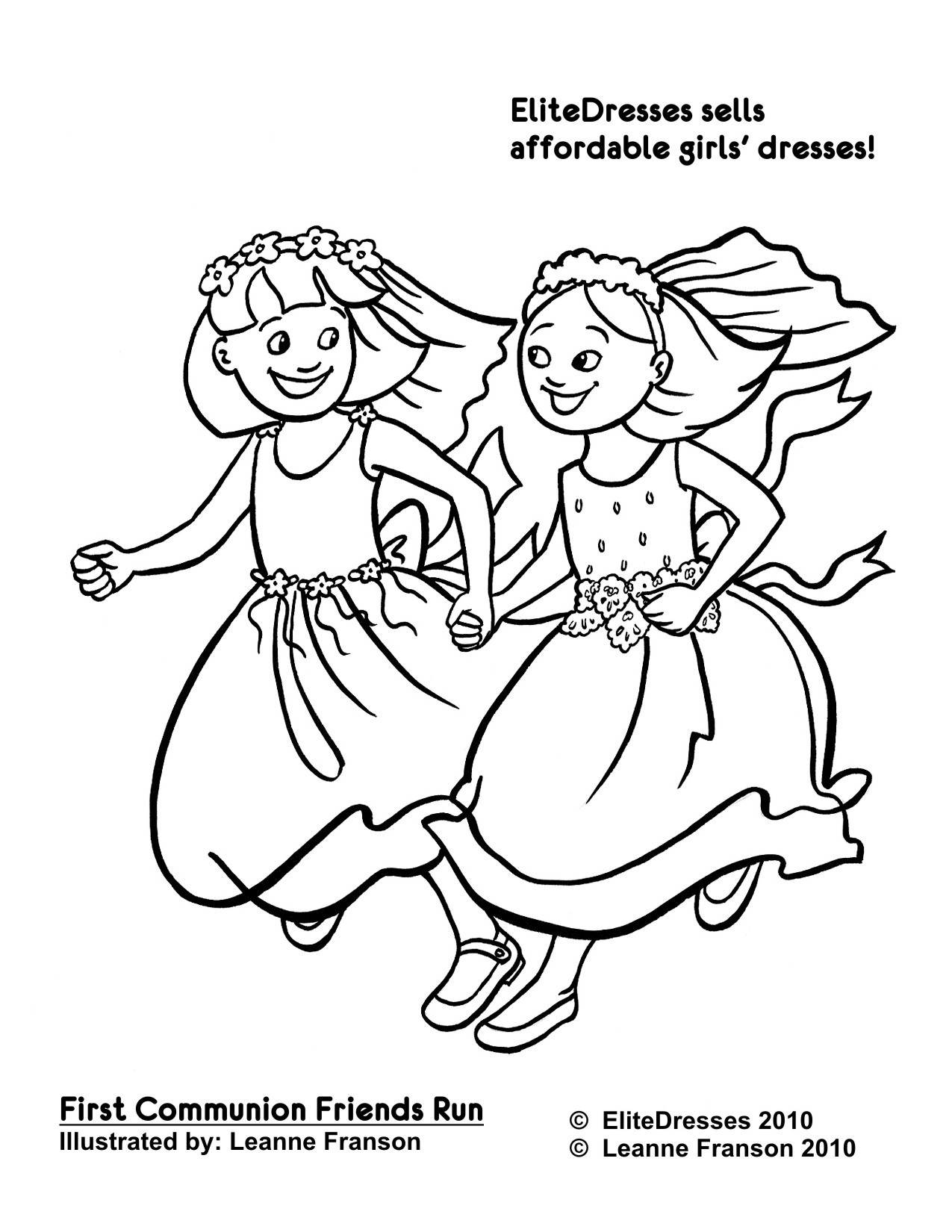 Friendship Coloring Pages For Girls  Best Friend Coloring Pages For Girls – Color Bros