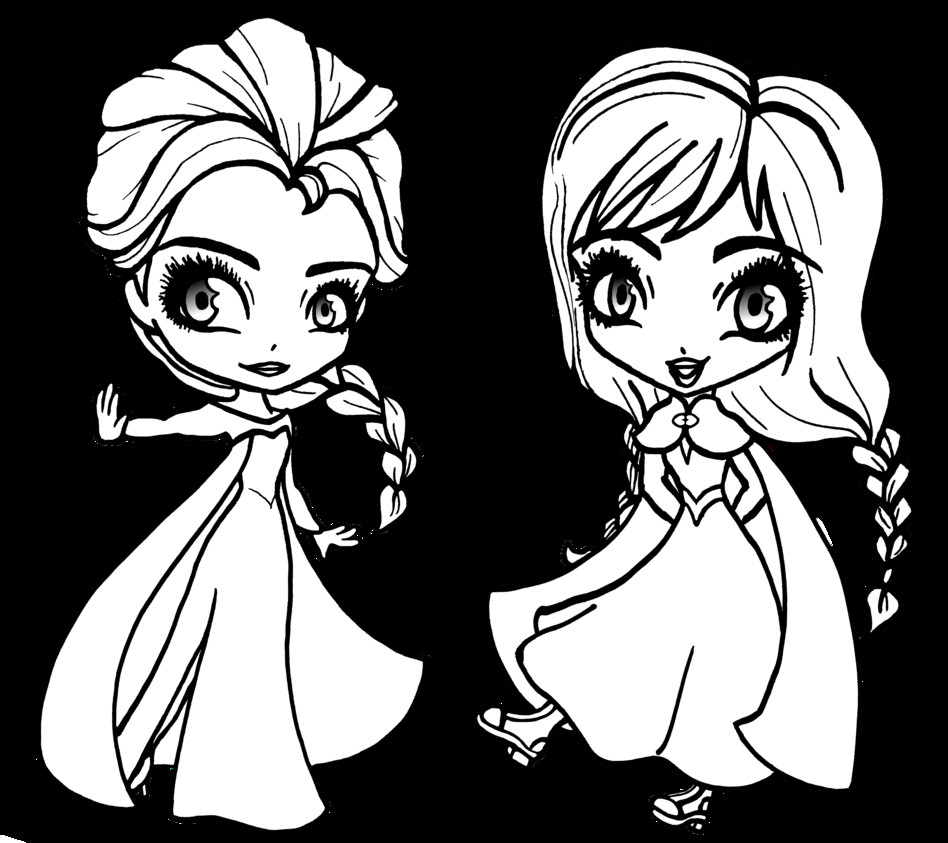 Frozen Coloring Pages For Girls  Free Printable Elsa Coloring Pages for Kids Best