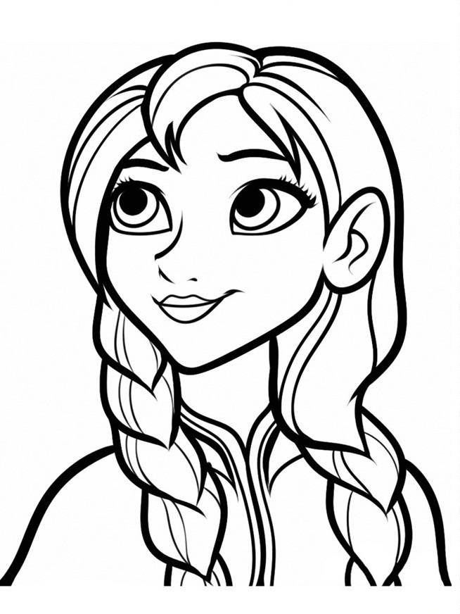 Frozen Coloring Pages For Girls  Frozen Coloring Pages 13