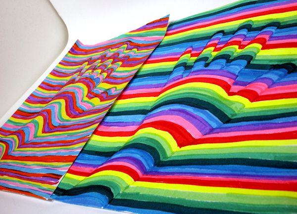 Best ideas about Fun Art For Kids . Save or Pin Fun OP Art Project for Kids Craft Ideas Now.