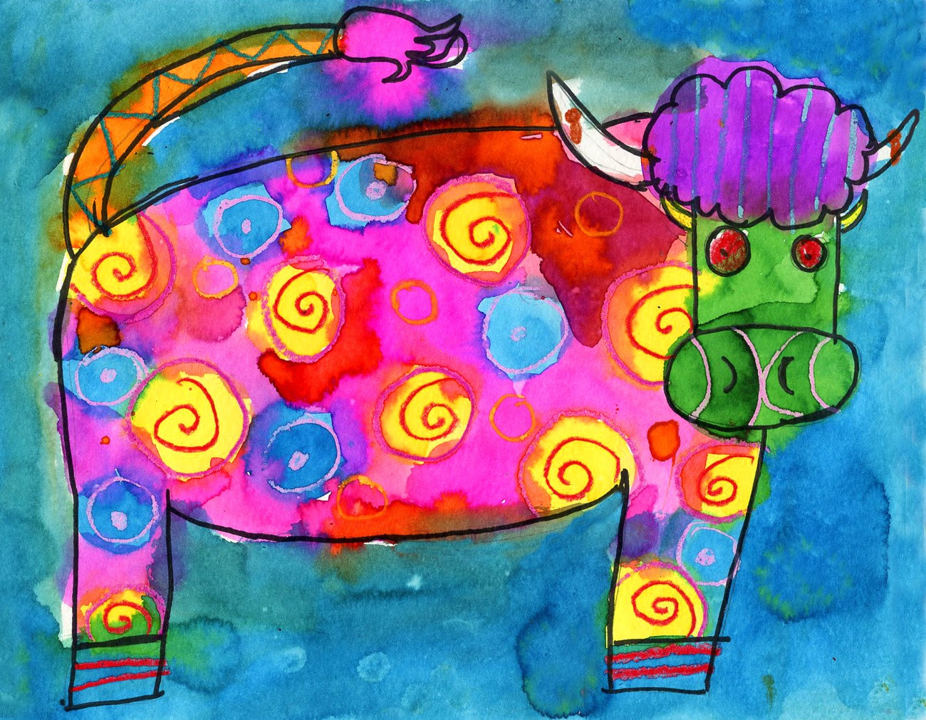 Best ideas about Fun Art For Kids . Save or Pin Kids Classes Ms Hannah's Time Traveling Art Class Now.