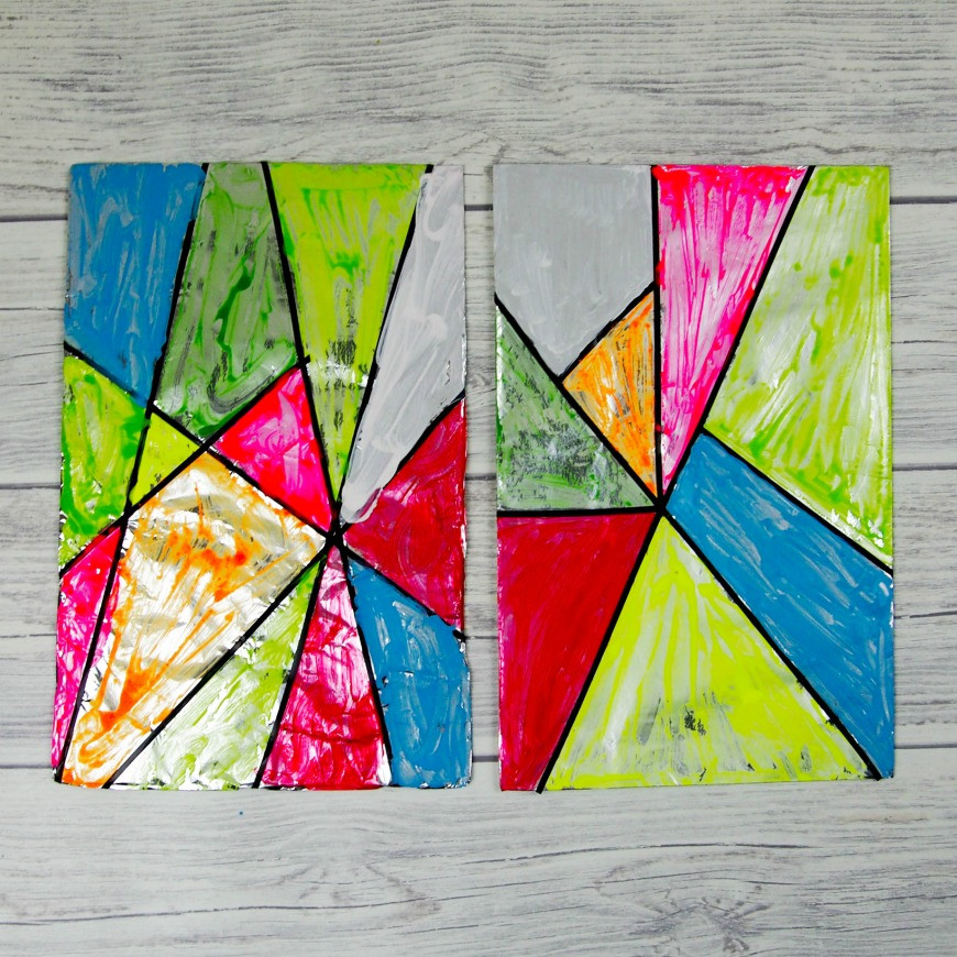 Best ideas about Fun Art For Kids . Save or Pin Faux stained glass art for kids Mum In The Madhouse Now.