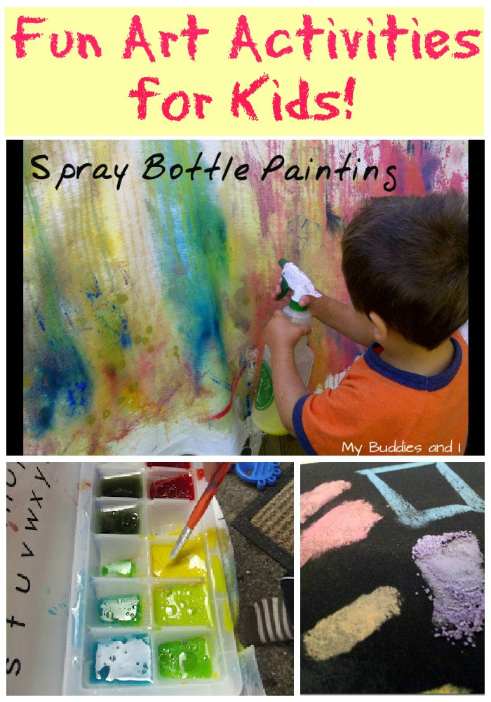 Best ideas about Fun Art For Kids . Save or Pin Fun Art Activities for Kids on Tuesday Tots Now.