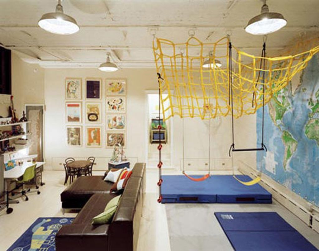 Best ideas about Fun Basement Ideas . Save or Pin kids playroom design ideas for older kids Now.