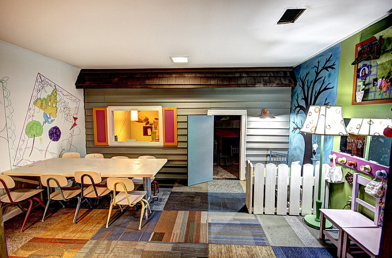 Best ideas about Fun Basement Ideas . Save or Pin Basement Kids' Playroom Ideas And Design Tips Now.