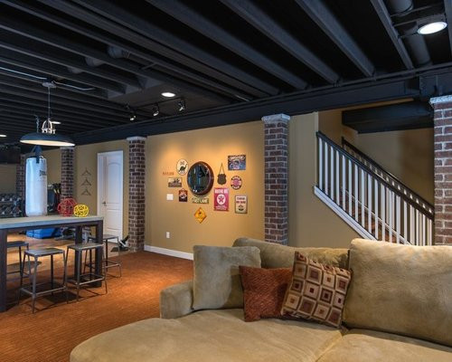 Best ideas about Fun Basement Ideas . Save or Pin Cool Basement Ideas Ideas Remodel and Decor Now.
