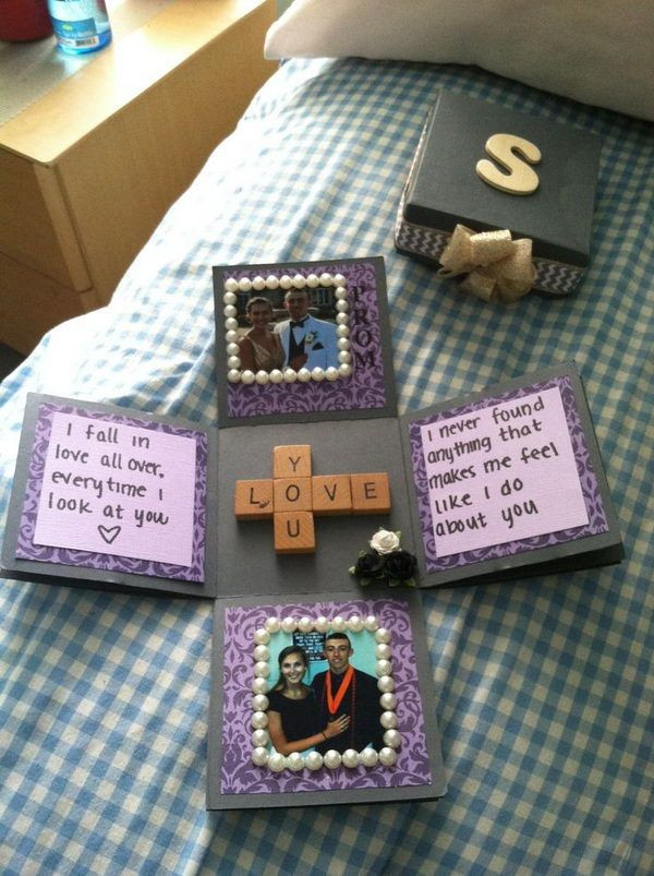 Best ideas about Fun Gift Ideas For Boyfriend . Save or Pin 30 DIY Gifts For Boyfriend 2017 Now.