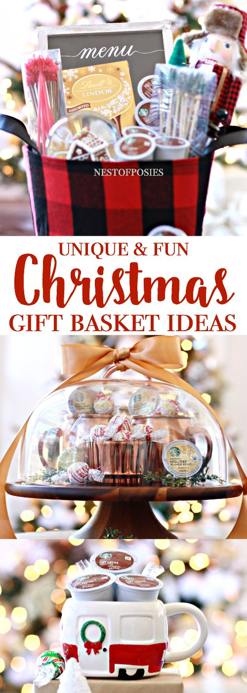 Fun Holiday Gift Ideas  Awesome Christmas Gift Basket Ideas