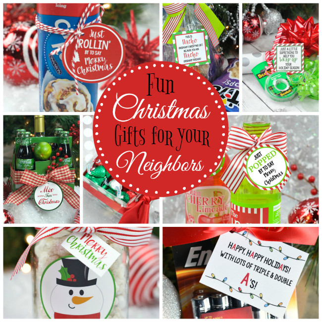 Fun Holiday Gift Ideas  Fun Christmas Gift Ideas for Neighbors – Fun Squared