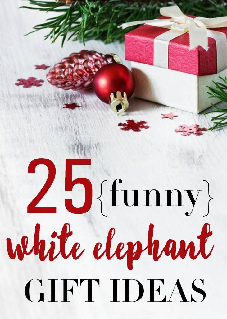 Fun Holiday Gift Ideas  25 Funny White Elephant Gift Ideas & Inexpensive Gifts