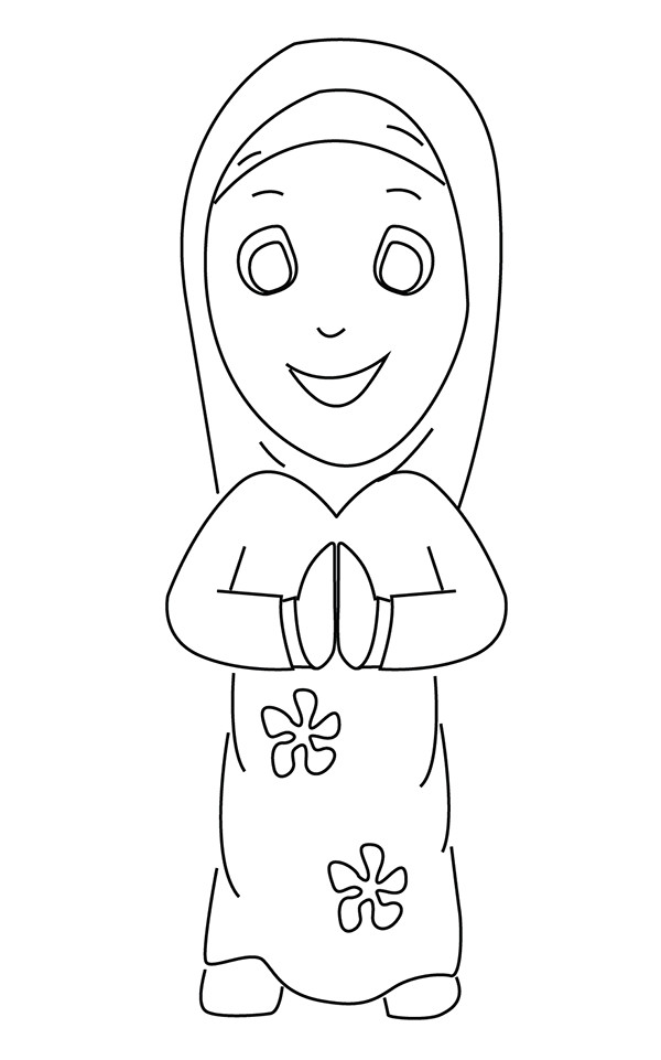 Fun Islamic Coloring Sheets For Kids  Ramadan Colouring Pages In The Playroom