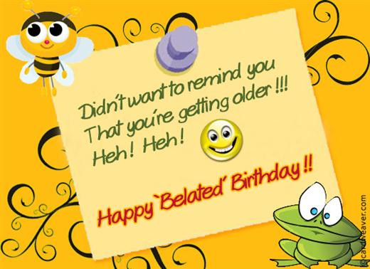 Funny Belated Birthday Wishes  17 Best Funny Happy Birthday Jokes Ever Wiki How