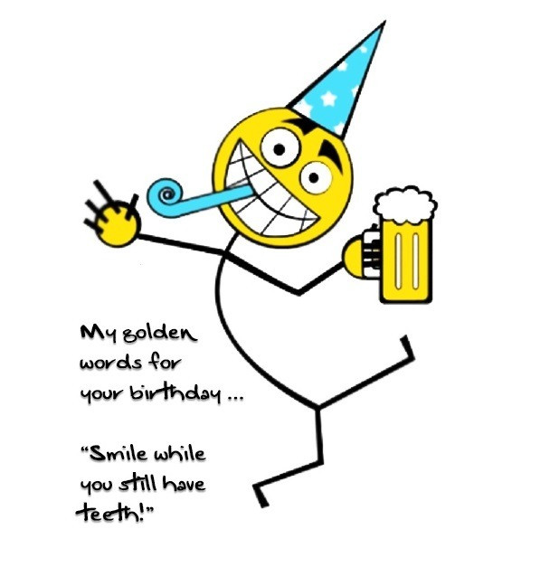 Best ideas about Funny Birthday Quotes For Men . Save or Pin 25 Funny Birthday Wishes and Greetings for You Now.