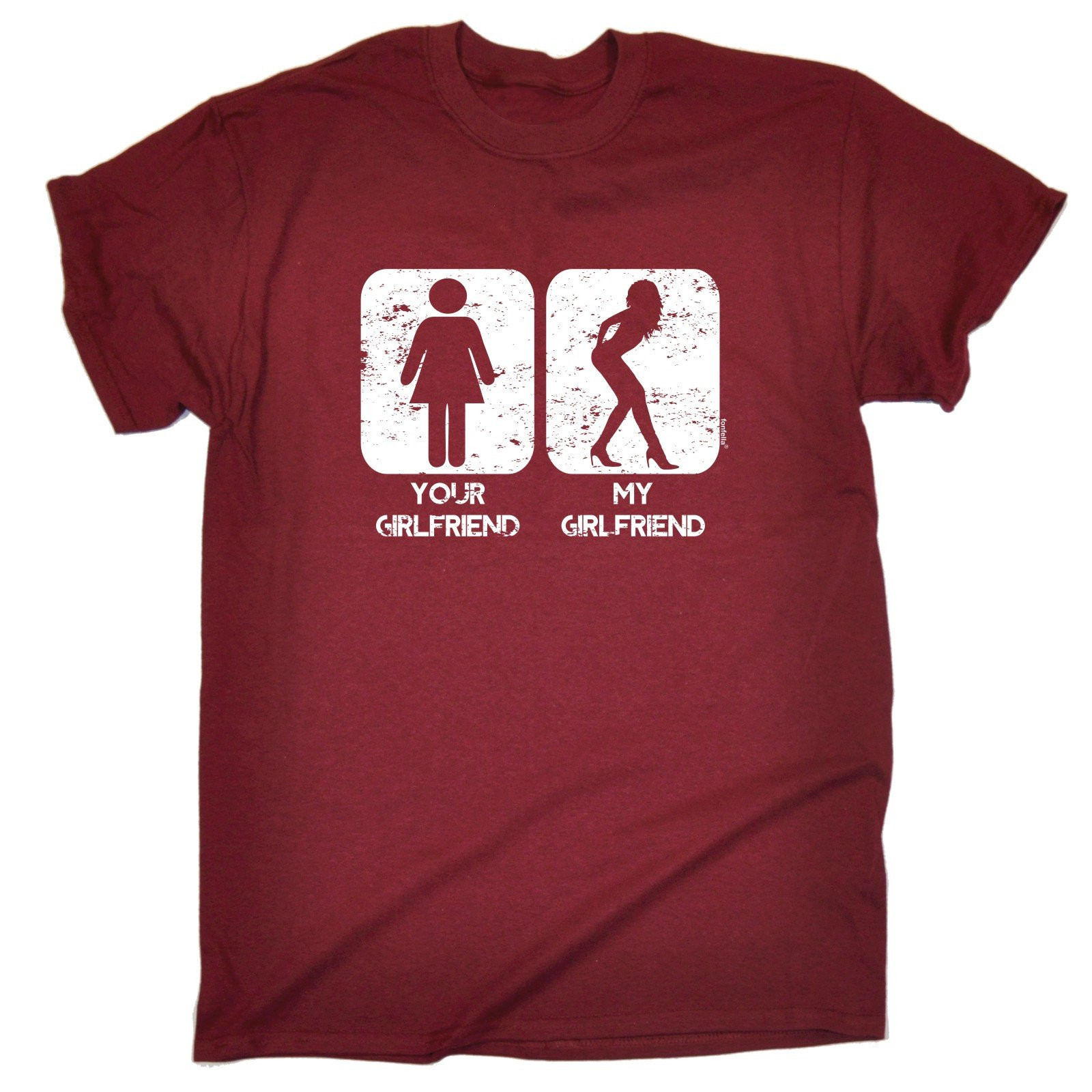 Best ideas about Funny Birthday T Shirts . Save or Pin YOUR GIRLFRIEND MY GIRLFRIEND T SHIRT tee partner funny Now.