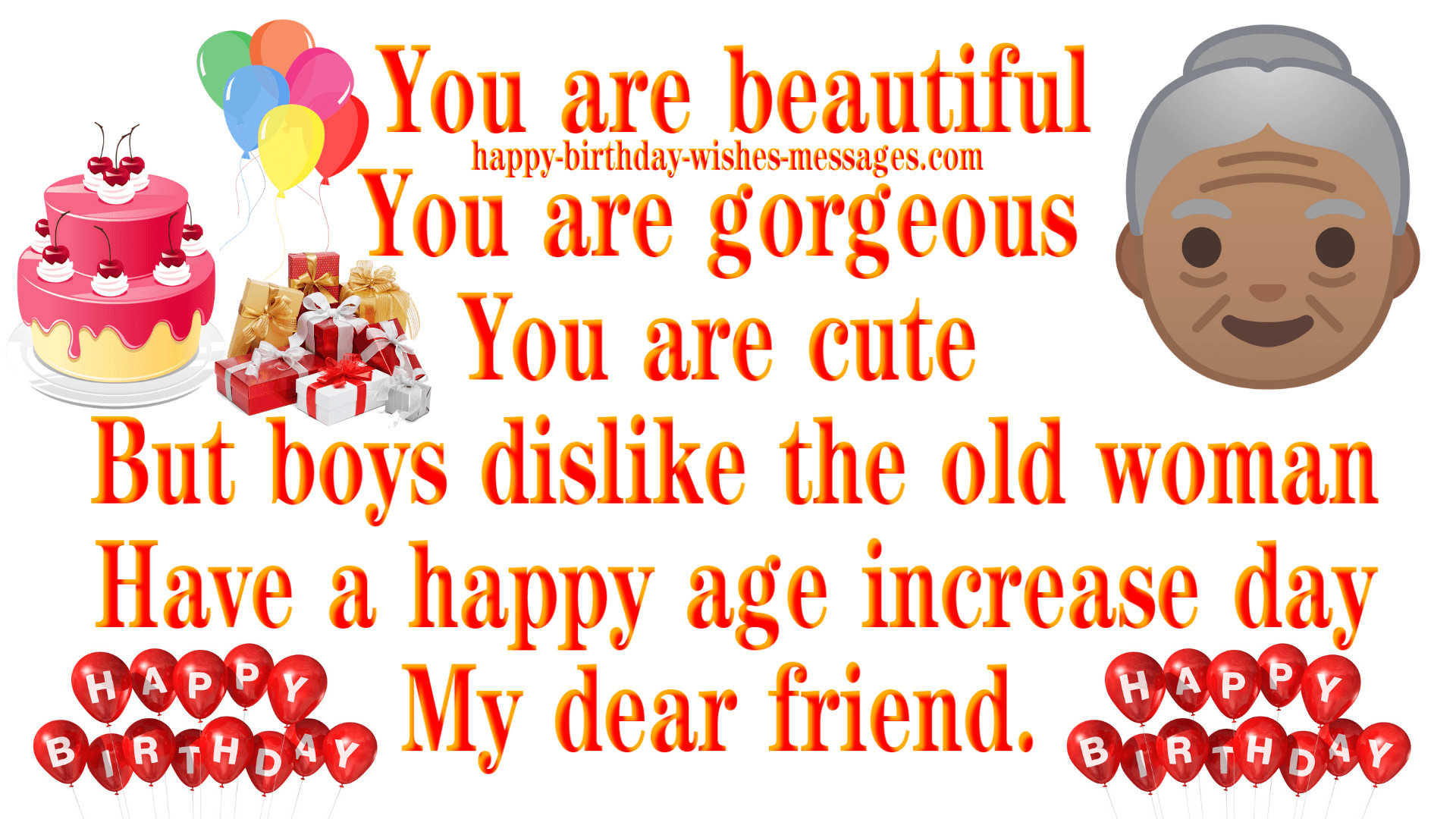 Best ideas about Funny Birthday Wishes For Best Friend Female . Save or Pin Funny Birthday Wishes For Best Friend Female Happy Now.