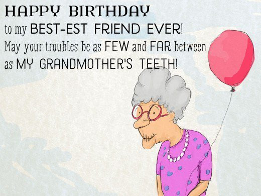 Best ideas about Funny Birthday Wishes For Best Friend Female . Save or Pin Funny Birthday Wishes For Best Friend Female Now.