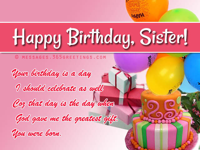 Funny Birthday Wishes For Elder Sister  Birthday wishes For Sister that warm the heart