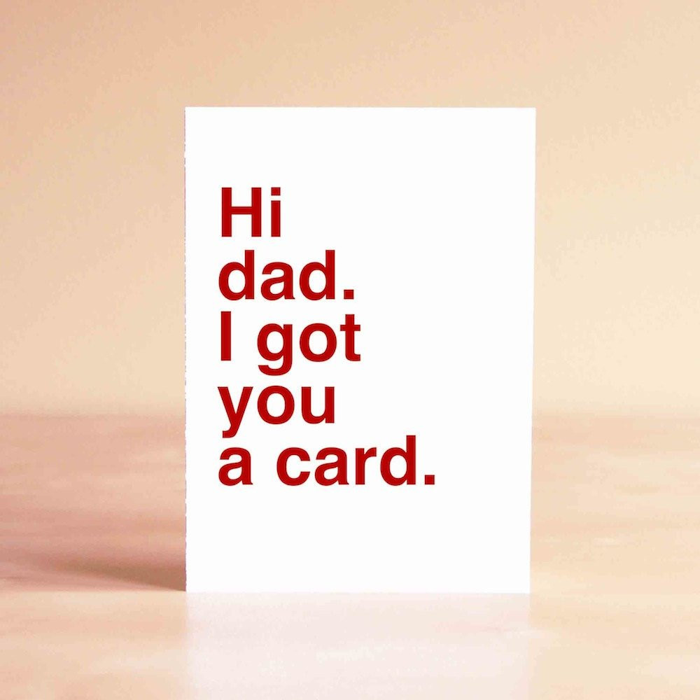 Funny Daddy Birthday Cards  Father s Day Card Funny Father s Day Card Dad Card
