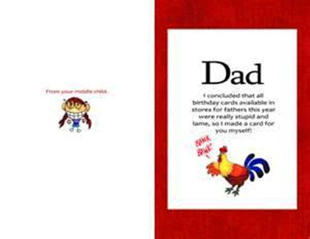 Funny Daddy Birthday Cards  Funny Birthday Quotes For Dad From Daughter QuotesGram