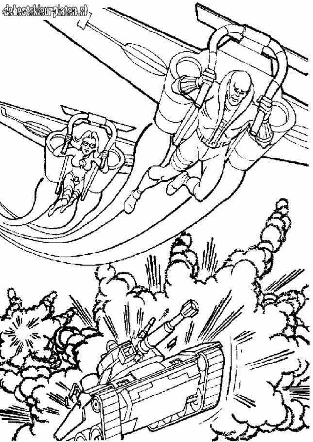 G I Joe Coloring Pages  gi joe7 Printable coloring pages