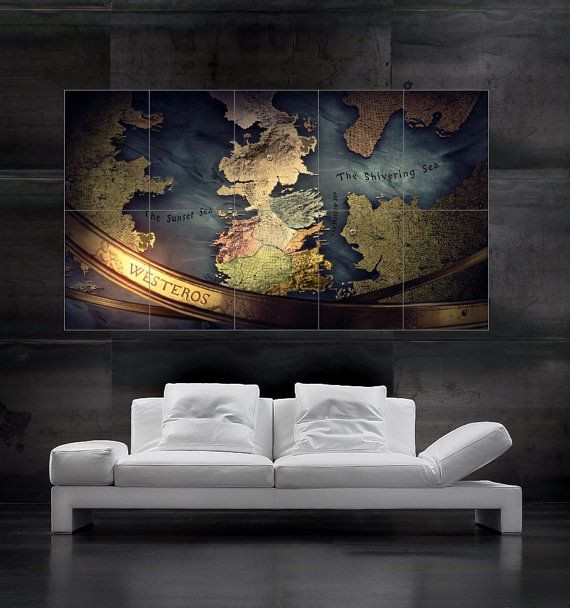 Best ideas about Game Of Thrones Wall Art . Save or Pin 25 Best Ideas about Westeros Map on Pinterest Now.