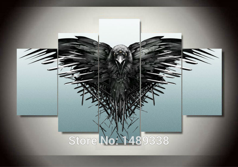 Best ideas about Game Of Thrones Wall Art . Save or Pin Free shipping game of thrones season picture Painting wall Now.