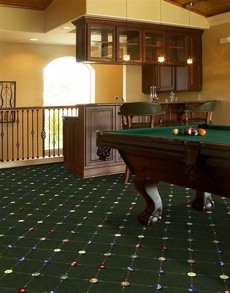 Best ideas about Game Room Carpet . Save or Pin Billiards Game Room Carpet Stargate Cinema Now.