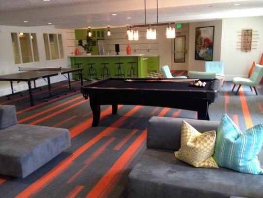 Best ideas about Game Room Carpet . Save or Pin Line and f Line bring this game room to life Now.