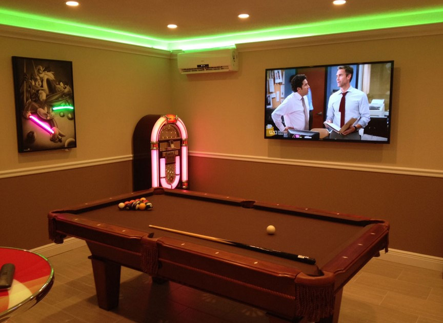 Best ideas about Game Room Lighting . Save or Pin 15 Funtastic Game Room Ideas For Kids and Familly Spenc Now.