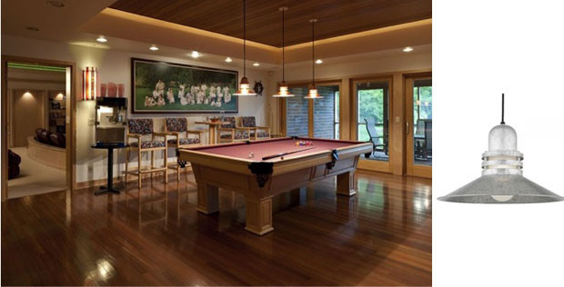 Best ideas about Game Room Lighting . Save or Pin Convert Your Basement into a Game Room with New Lights Now.