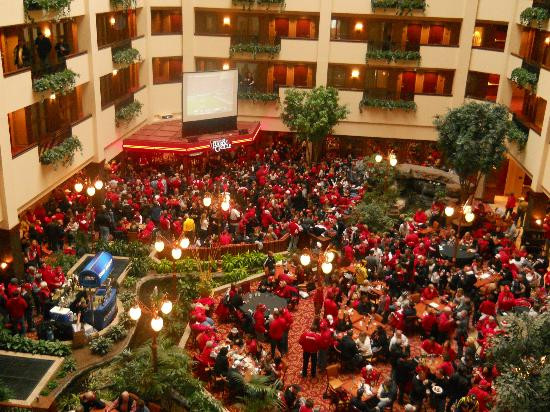 Best ideas about Game Room Lincoln Ne . Save or Pin Atrium Picture of Embassy Suites by Hilton Lincoln Now.