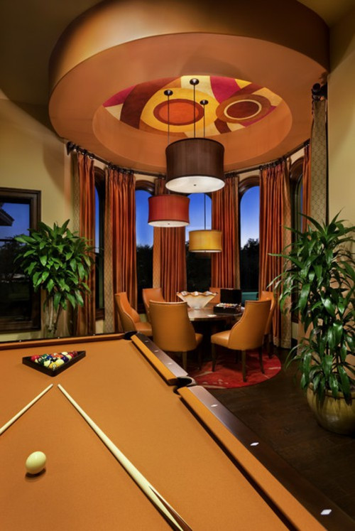 Best ideas about Game Room Tables . Save or Pin 30 Trendy Ideas For Designer Game Room With Billiard Now.