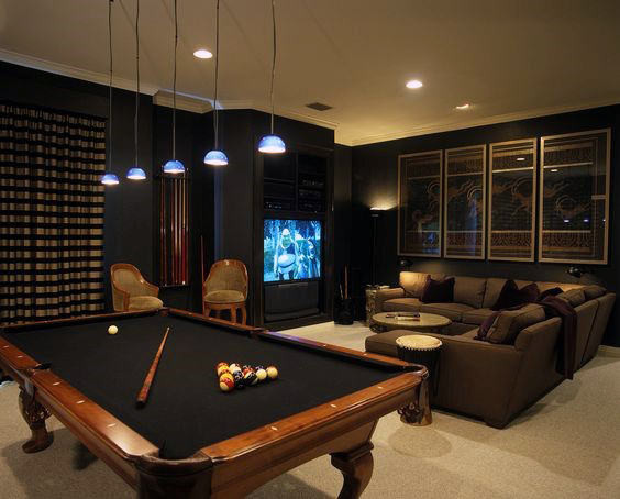 Best ideas about Game Room Tables . Save or Pin 60 Game Room Ideas For Men Cool Home Entertainment Designs Now.