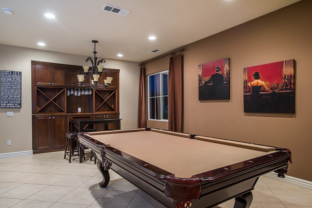 Best ideas about Game Room Wall Decor . Save or Pin Game Room Wall Art traditional game room with limestone Now.