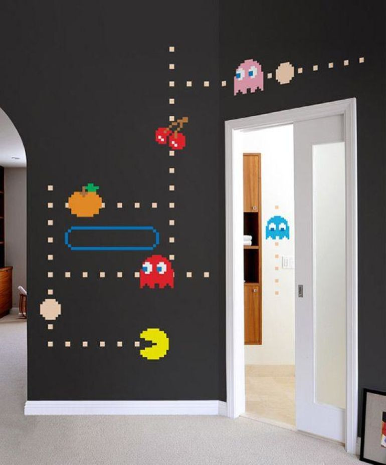 Best ideas about Game Room Wall Decor . Save or Pin Game Room Ideas Now.
