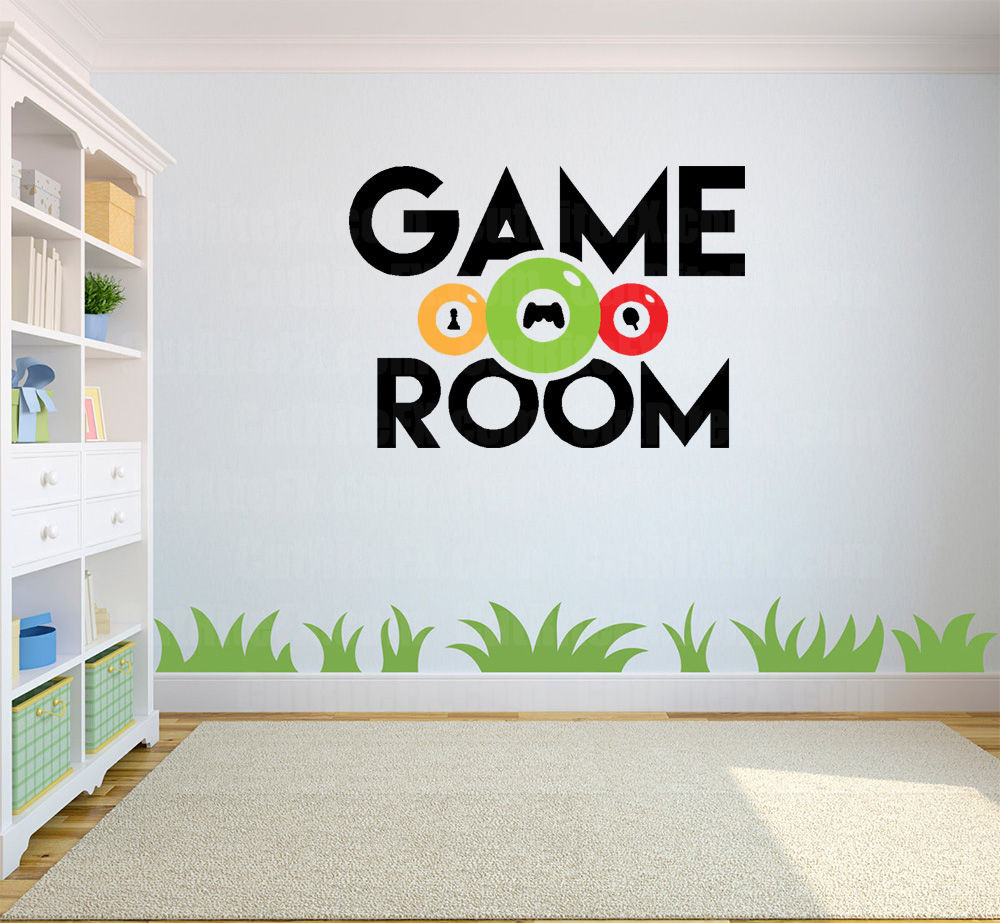 Best ideas about Game Room Wall Decor . Save or Pin Wall Art Game Room Wall Decal Now.
