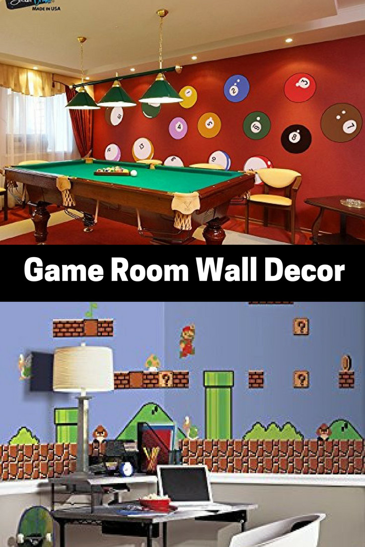 Best ideas about Game Room Wall Decor . Save or Pin Absolutely Epic Game Room Wall Decor Gaming Wall Art Now.