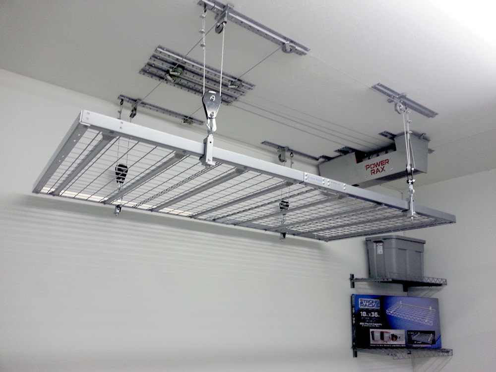 Best ideas about Garage Ceiling Storage Lift . Save or Pin Create Storage Garage Lift System — Home Ideas Collection Now.