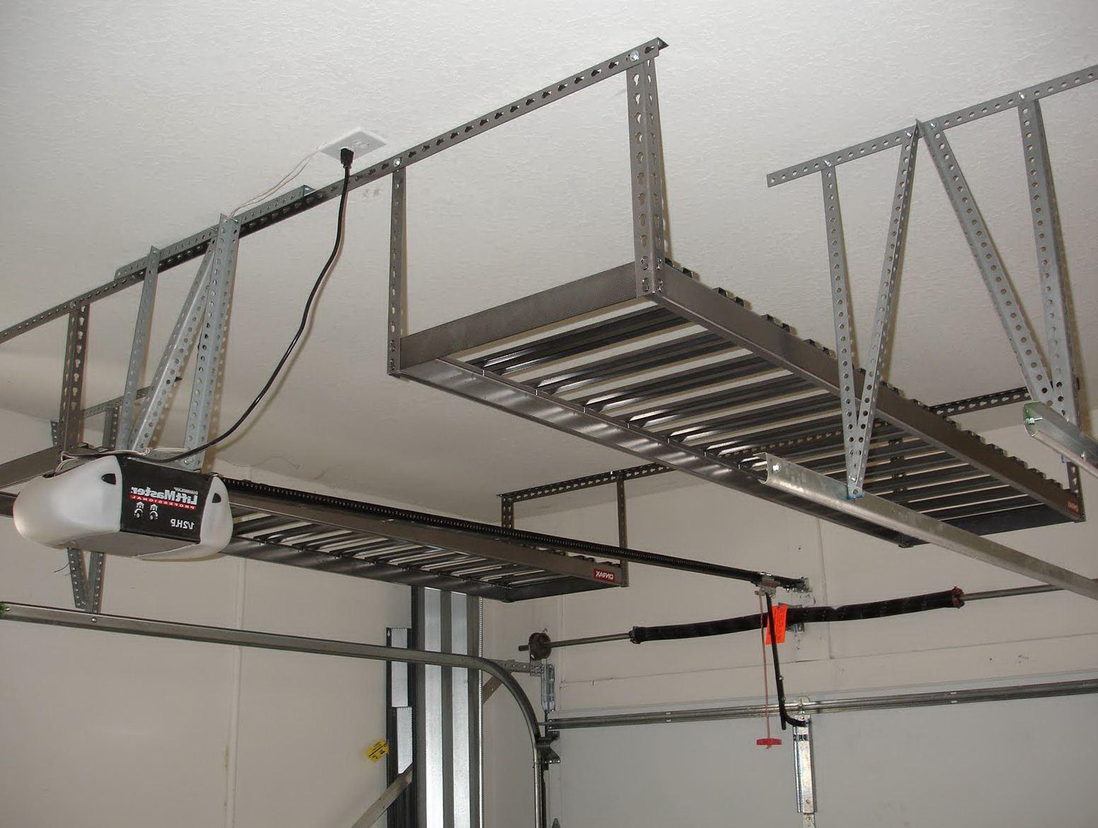 Best ideas about Garage Ceiling Storage Lift . Save or Pin Diy Overhead Garage Storage Lift DIY Unixcode Diy Garage Now.