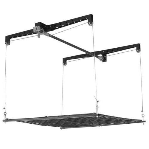 Best ideas about Garage Ceiling Storage Lift . Save or Pin Garage Rafter Storage Lift in Overhead Garage Storage Now.