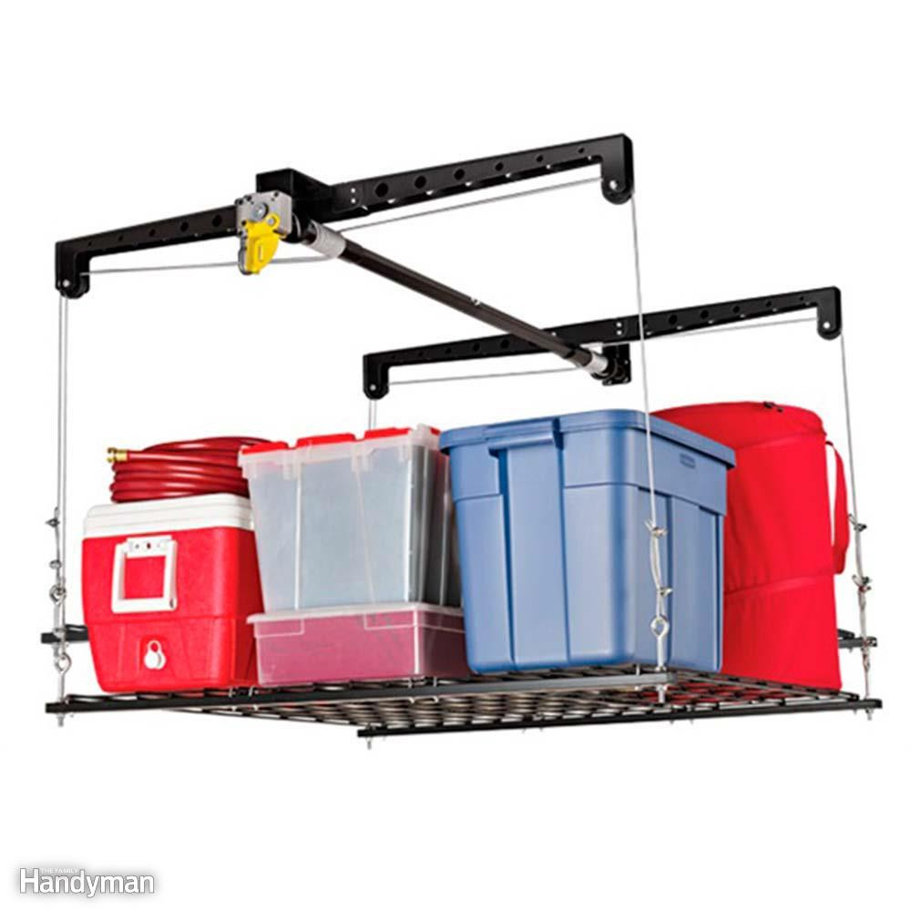 Best ideas about Garage Ceiling Storage Lift . Save or Pin 14 Products to Maximize Your Garage Ceiling Storage Now.