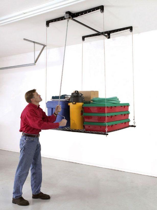 Best ideas about Garage Ceiling Storage Lift . Save or Pin Best 25 Garage ceiling storage ideas on Pinterest Now.